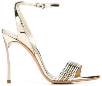 Casadei Blade multi-metallic sandals