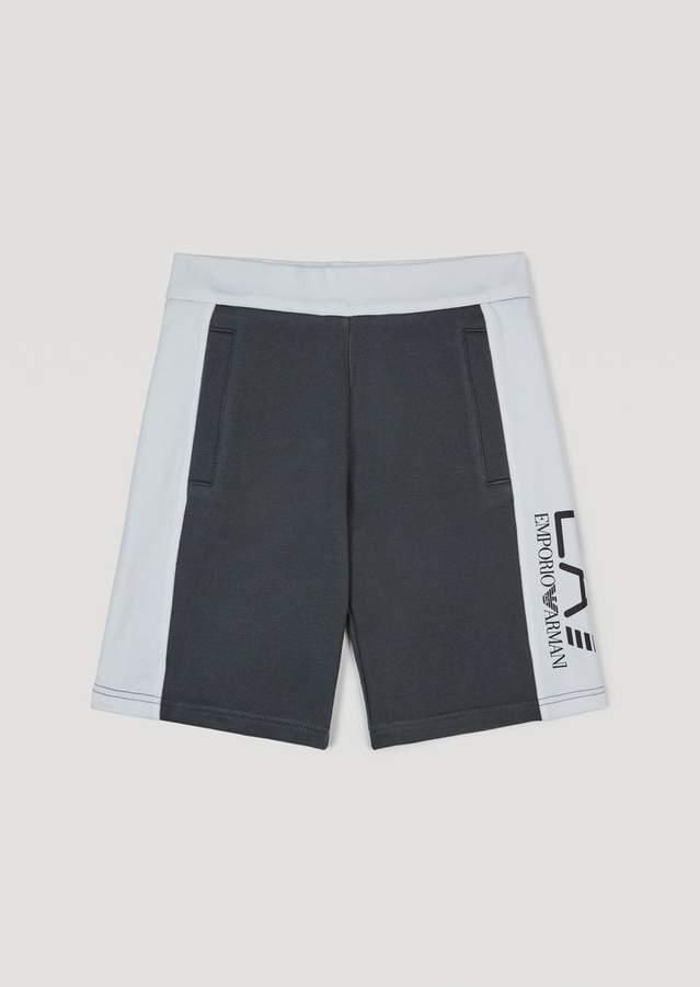 Ea7 Boys' Bermuda Sweat Shorts