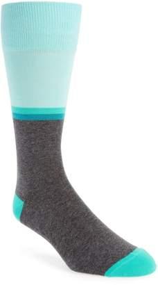 Calibrate Blocked Cuff Sock