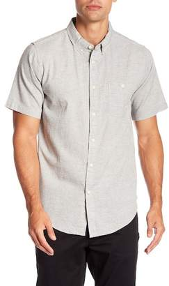 Ezekiel Campbell Short Sleeve Woven Solid Regular Fit Shirt