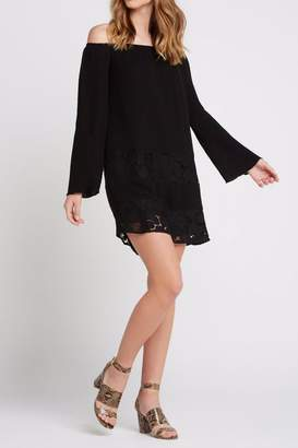 BCBGeneration Off-The-Shoulder Peasant Dress