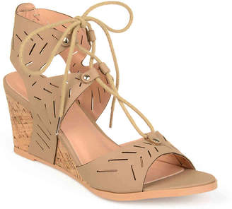 Journee Collection Minny Wedge Sandal - Women's