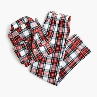 J.Crew Kids' flannel pajama set in Stewart plaid