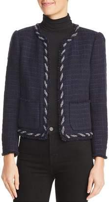 Rebecca Taylor Crochet Tweed Jacket