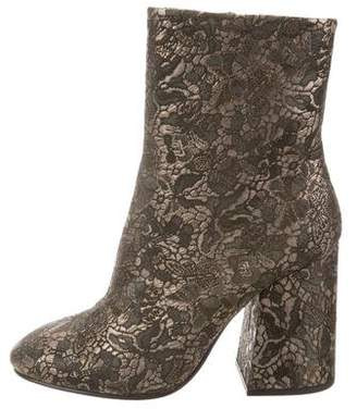 Ash Jacquard Ankle Boots w/ Tags