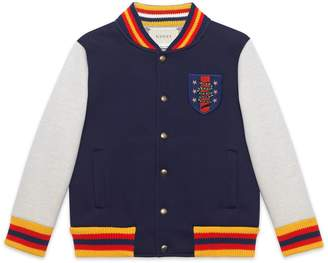 Gucci Children's bomber jacket with crest