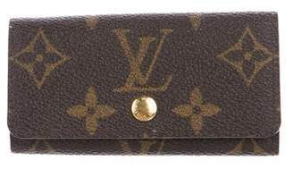 Louis Vuitton Monogram 4 Key Holder