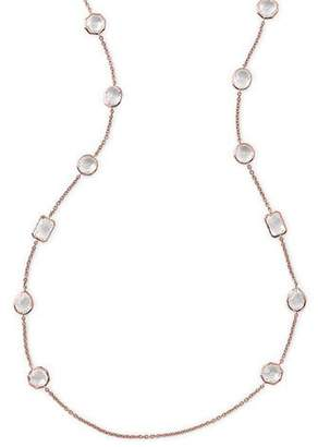 Ippolita Rose Rock Candy Medium Stone Station Necklace