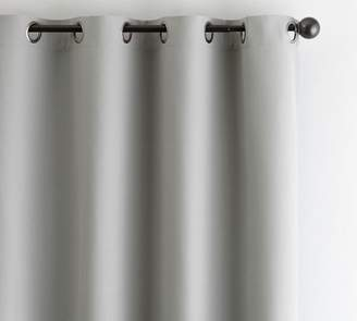 Pottery Barn Indoor/Outdoor Grommet Curtain - Gray Drizzle
