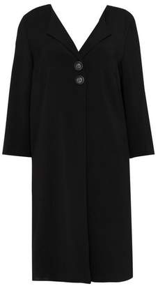 Wallis Black Collar Button Tunic Dress