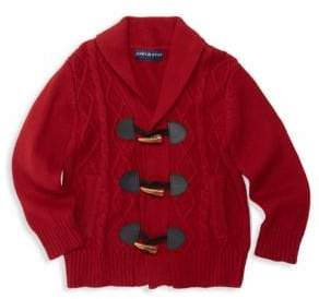 Andy & Evan Baby Boy's & Little Boy's Cotton Cable-Knit Cardigan