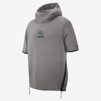 Nike Men's Short-Sleeve Hoodie Showout (NFL Packers)