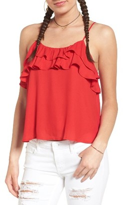 Women's Lush Ruffle Camisole $35 thestylecure.com