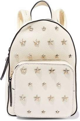 RED Valentino Studded Textured-Leather Backpack