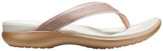 Crocs Capri V Sequin Rose Gold Sandal W 204311