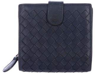 Bottega Veneta Intrecciato Leather Compact Wallet