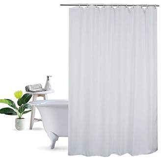 At Amazon UFRIDAY Shower Curtain Liner 75 Inch Long