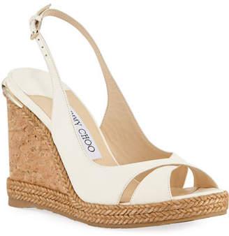 1b70438b78aa Jimmy Choo Cork Wedge Women s Sandals - ShopStyle