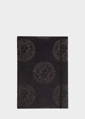 Versace Medusa Royale Silk-Blend Notebook