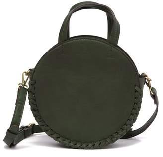Street Level Braided Trim Circular Crossbody Bag 00dae066919b4