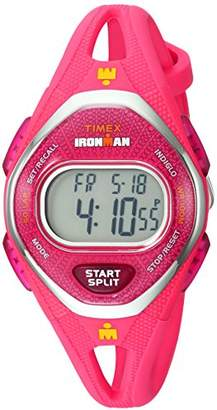 Timex Women's TW5M10700 Ironman Sleek 50 Silicone Strap Watch