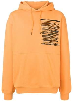 MHI printed hoodie