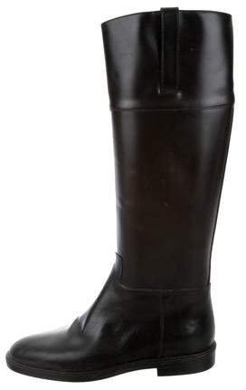 Michael Kors Knee-High Leather Boots