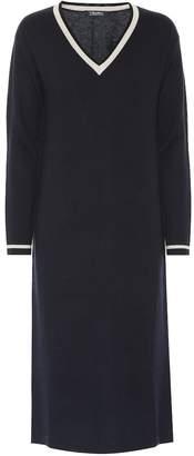 Max Mara S Palermo wool-blend dress