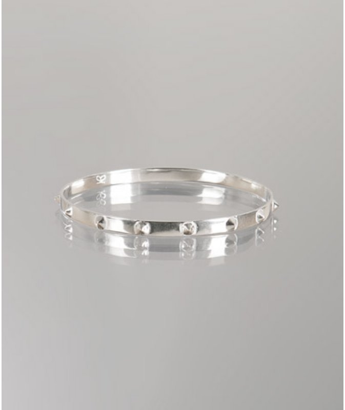 Gorjana sterling silver studded 'Karta' bangle