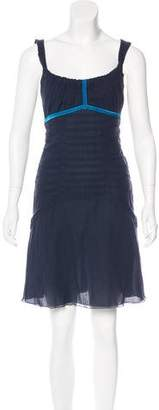 Louis Vuitton Ruched Mini Dress