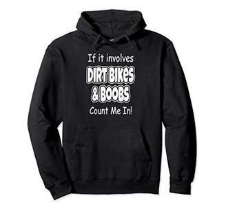 Dirt Bike Gift for Funny Men Hoodie