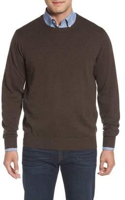Peter Millar Wool & Cotton Crewneck Sweater