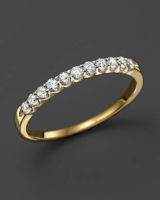 Bloomingdale's Diamond Band Ring in 14K Yellow Gold, .25 ct. t.w. - 100% Exclusive