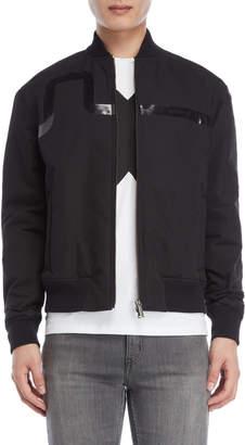 Bikkembergs Black Bomber Jacket