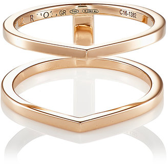 Repossi Women's Antifer Two-Row Cage Ring-PINK