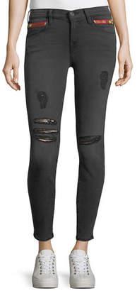Etienne Marcel Kendall High-Waist Cropped Skinny Jeans