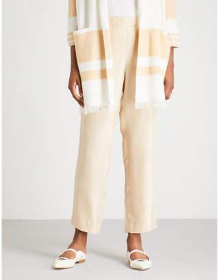 St. John Relaxed-fit gabardine trousers