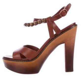 UGG Australia Naima Platform Sandals $80 thestylecure.com