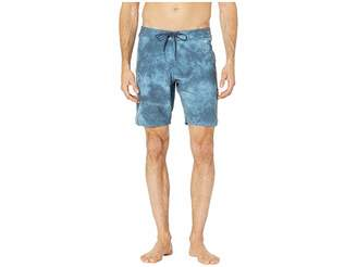 VISSLA Solid Sets Washed Four-Way Stretch Boardshorts 18.5