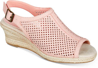 Easy Street Shoes Stacy Wedge Sandals Women's Shoes