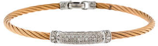 Charriol Charriol Two-Tone Diamond Bangle