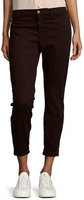 J Brand Women's Luxe Sateen Anja Ankle Cuff Jeans