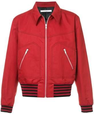 Givenchy Garbadine zipped jacket
