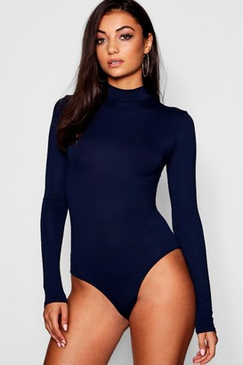 boohoo Tall Turtle Neck Long Sleeve Bodysuit