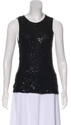Narciso Rodriguez Cashmere Embellished Top