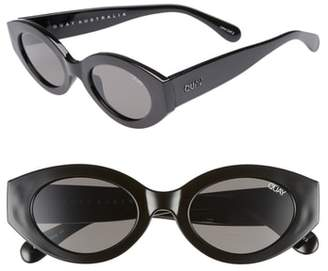 Quay See Me Smile 50mm Cat Eye Sunglasses