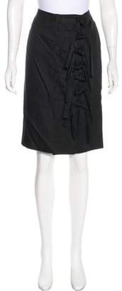 Missoni Silk & Wool-Blend Knee-Length Skirt