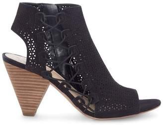 Vince Camuto Elison Laser-cut Cone-heel Sandal
