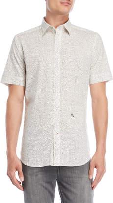 Diesel Star Print Short Sleeve Shirt