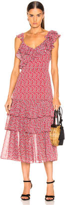 Marissa Webb Lisandra Print Dress
